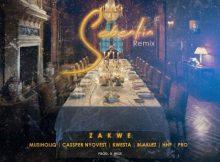 Zakwe - Sebentin (Remix) ft. Cassper Nyovest, Kwesta, Blaklez, HHP, Musiholiq & Pro
